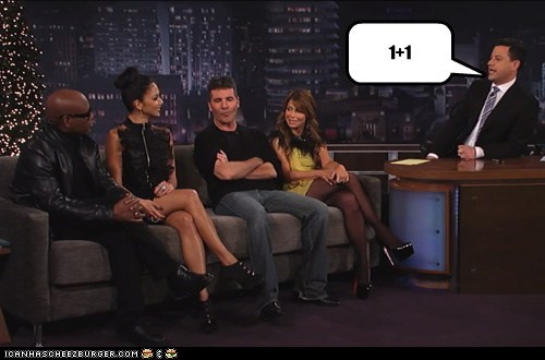 actor,celeb,funny,jimmy kimmel,paula abdul,ru paul,simon cowell,TV