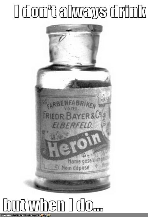 bottle drink heroin medicine old - 6337675520