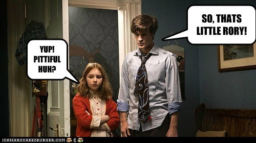 amy pond doctor who kids Matt Smith rory williams the doctor - 6337839872