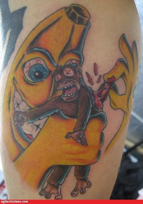 banana monkey peeling - 6337884928