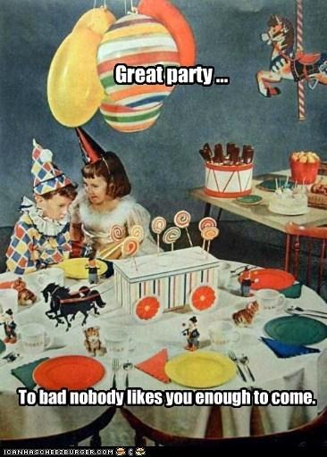 birthday Party Sad - 6337993216