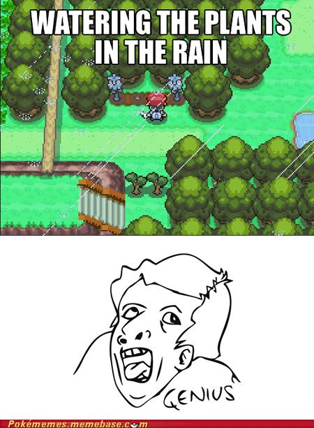 gameplay genius in the rain plant unbrellas - 6338231296