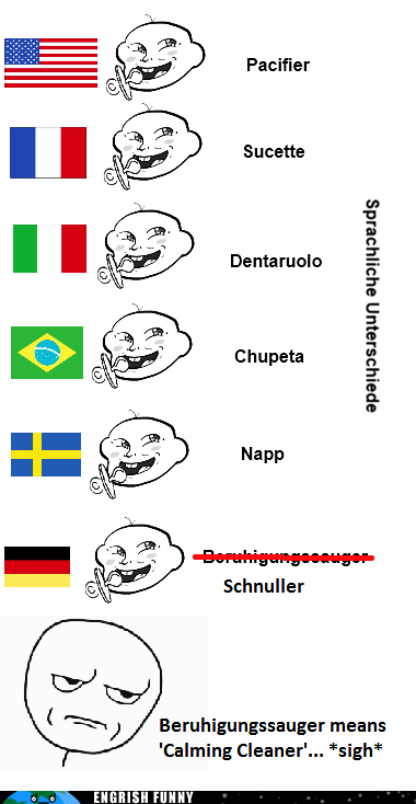 differenze linguistiche english german Germany - 6338518784