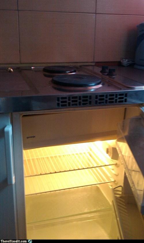 fridge kitchen oven range refrigerator Slovenia stove - 6339322112