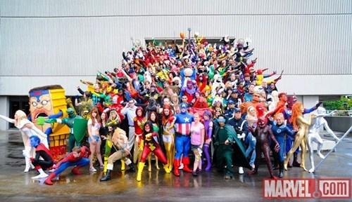 comics cosplay marvel superheroes