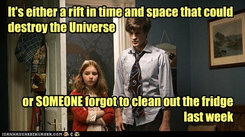 amy pond clean dirty doctor who fridge Matt Smith mold rift the doctor universe - 6340103680