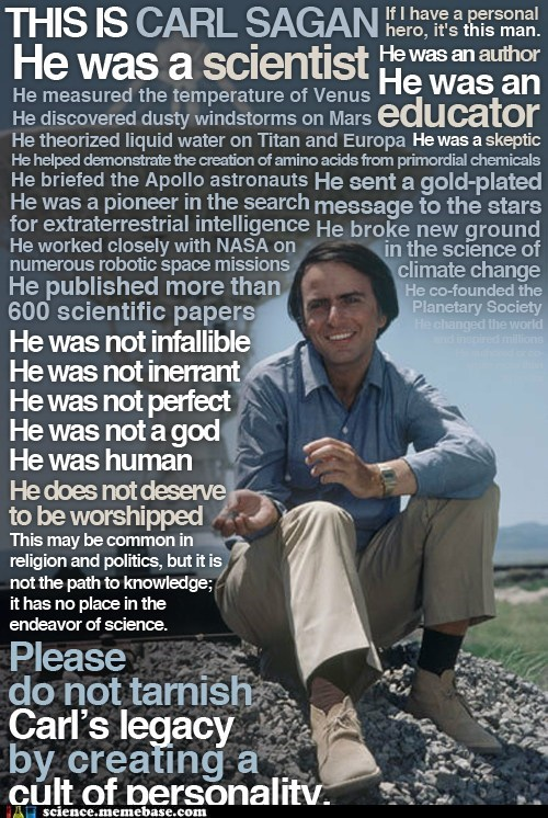 carl sagan,evidence,Professors,true scientist,worship