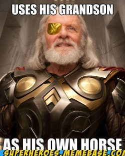 avengers horse odin one-eye Super-Lols Thor - 6340527360