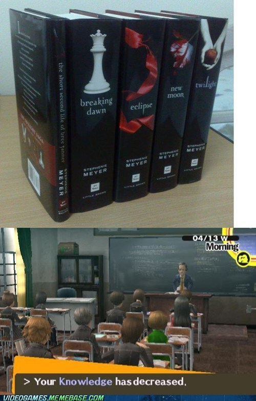 books,gameplay,knowledge,persona,twilight