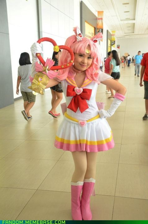 anime,chibiusa,cosplay,sailor moon