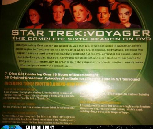 Star Trek,star trek voyager