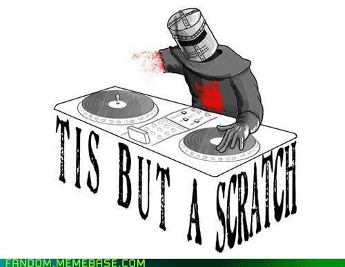best of week dj Fan Art monty python Music the black knight - 6341822720