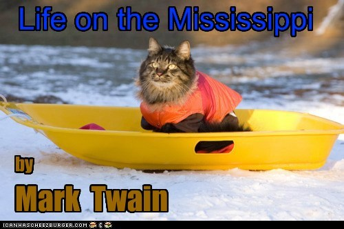 Life on the Mississippi Mark Twain by