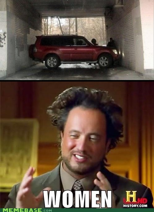 ancient aliens cars driving women