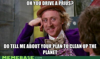 driving,environment,Memes,Prius,Willy Wonka