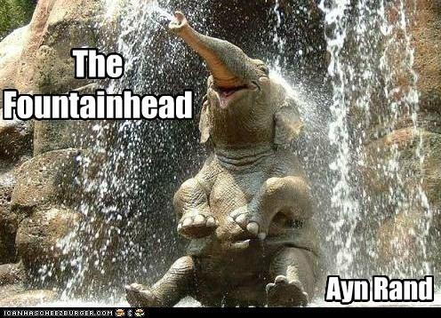 america Ayn Rand elephant objectivism Republicans the fountainhead - 6342500096