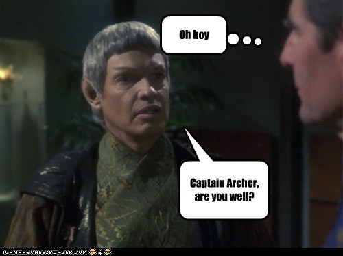 captain archer sam becket scott bakula Vulcan