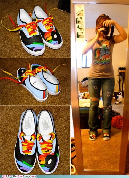 Bronies Fan Art my little pony shoes - 6342813952