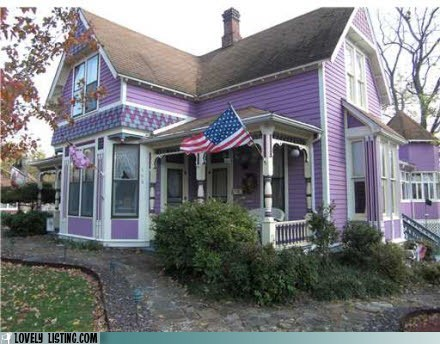 house,monster,paint,purple