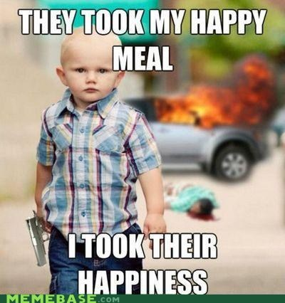 happiness happy meal kid PTSD Clarinet Ki PTSD Clarinet Kid