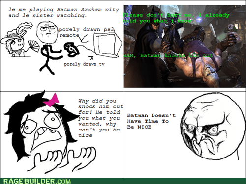 batman,no,Rage Comics,video games