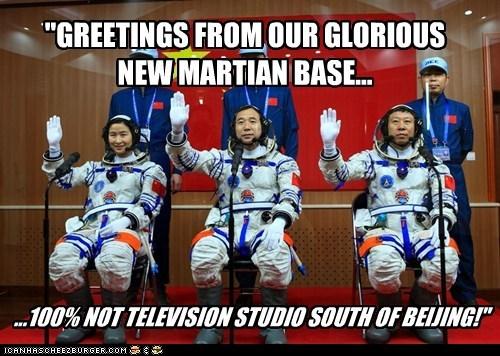 astronauts Mars political pictures - 6343342848