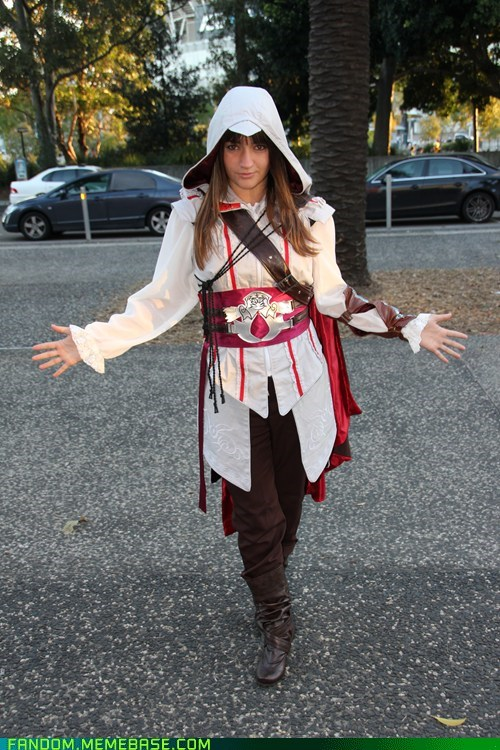 assassins creed,cosplay,ezio,video games