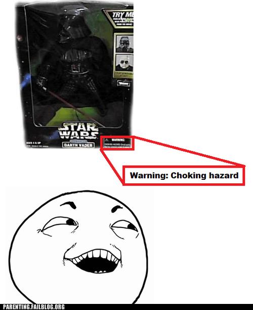 choking hazard darth vader star wars - 6344526848