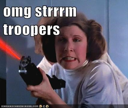 best of week,lazers,Movie,Movies and Teled,Movies and Telederp,Princess Leia,star wars,stormtrooper