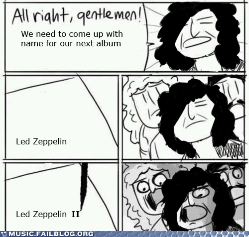 album,all right gentlemen,led zeppelin,led zeppelin II,sequel
