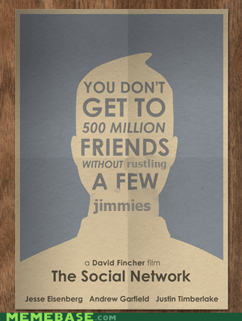 David Fincher,facebook,jimmies,Memes,rustles,the social network