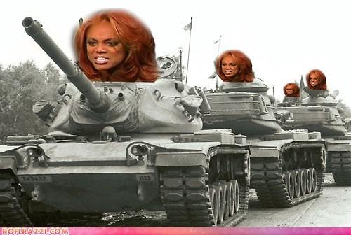 celeb funny model shoop Tyra Banks ugh - 6344892416