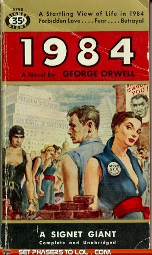 1984 big brother book covers books classic cover art george orwell wtf - 6344957184