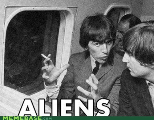 airplane ancient aliens beatles george harrison Music