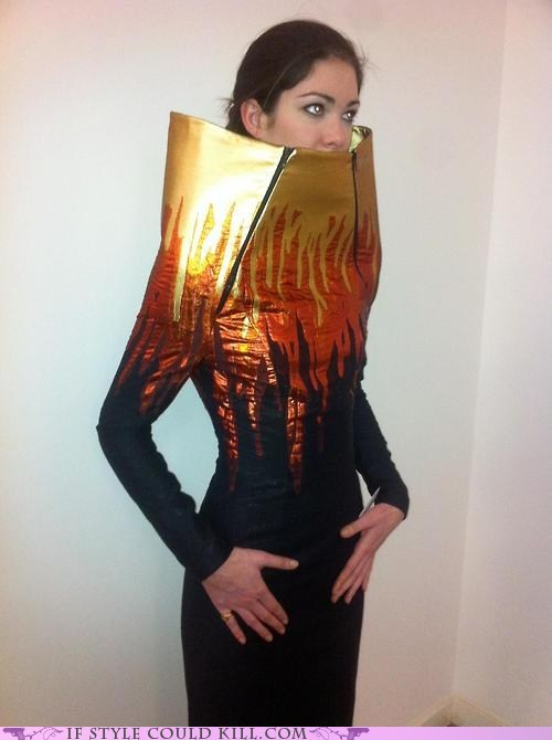 cool accessories dresses fire - 6345234688