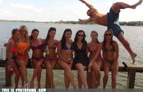 bikini dive girls Perfect Timing water - 6345379584