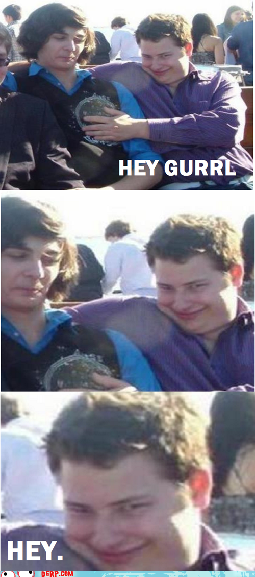 creeper kid,derp,friends,hey gurl