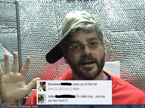cap dad dad humor facebook failbook style