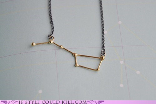 constellations cool accessories necklaces the big dipper - 6345433600