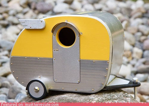 birdhouse miniature trailers - 6345434624