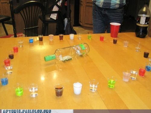 after 12,g rated,partying win,shots,spin the bottle,win