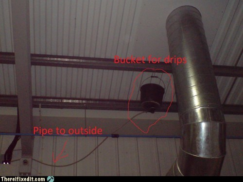 bucket leak leaking roof leaky roof roof - 6345774592