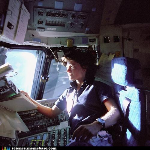 astronaut Rocket Science sally ride space shuttle - 6345795584