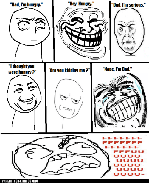 dad Rage Comics smart ass - 6345823488
