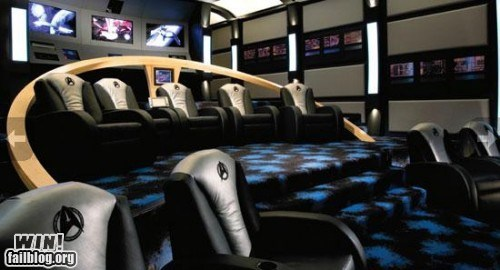 design Hall of Fame home theater movies nerdgasm Star Trek - 6345922304