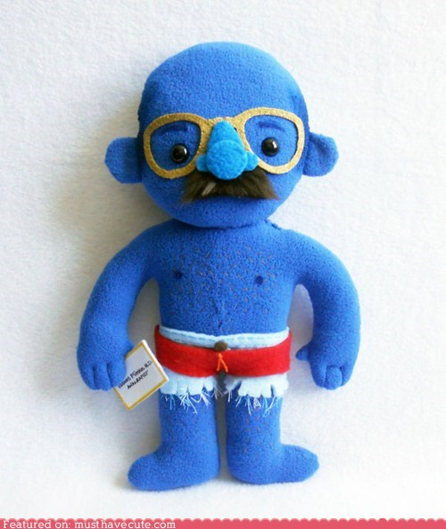 arrested development,blue,David Cross,nevernude,Plush,tobias fünke