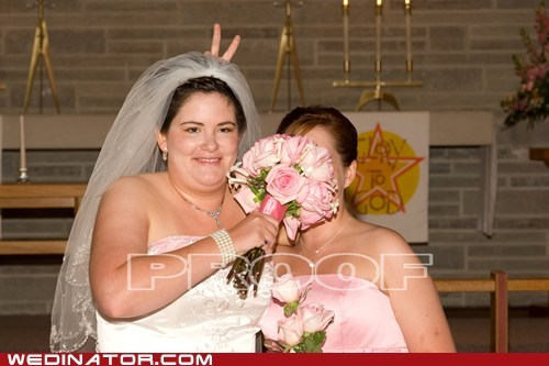 rabbit ears,sisters,bouquet,pranks