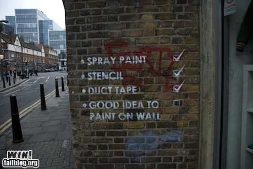 clever graffiti hacked irl Street Art - 6346187008