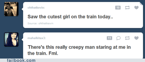 creepy,dating,train,tumblr