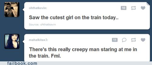 creepy dating train tumblr